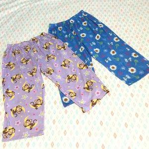 Other - Two Sleepwear Pants Girls